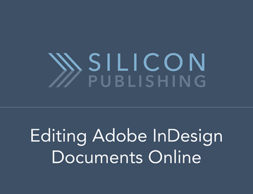 Editing InDesign Documents Online