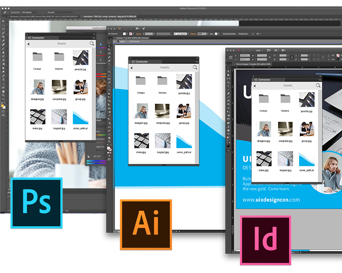 Connector in Adobe CC