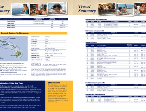 InDesign Server Case Study: Royal Caribbean Cruise Lines