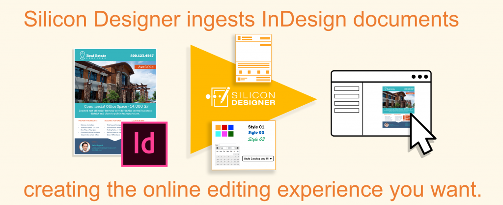 Silicon Designer ingests InDesign documents