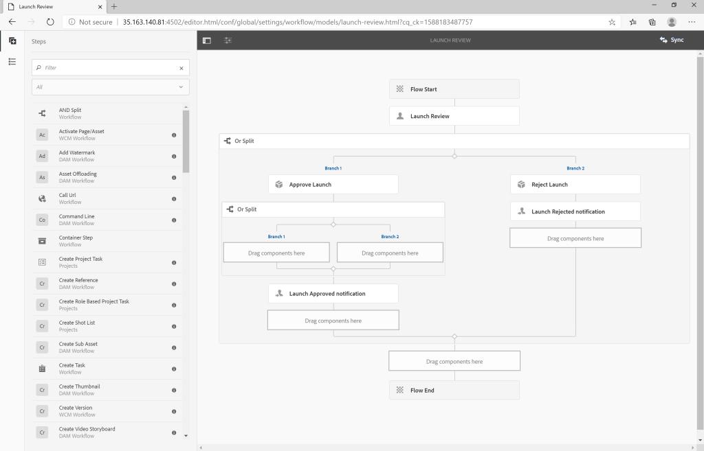 AEM Workflow